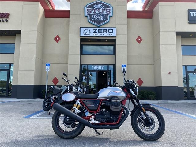 2017 Moto Guzzi V7 III Racer at Fort Myers
