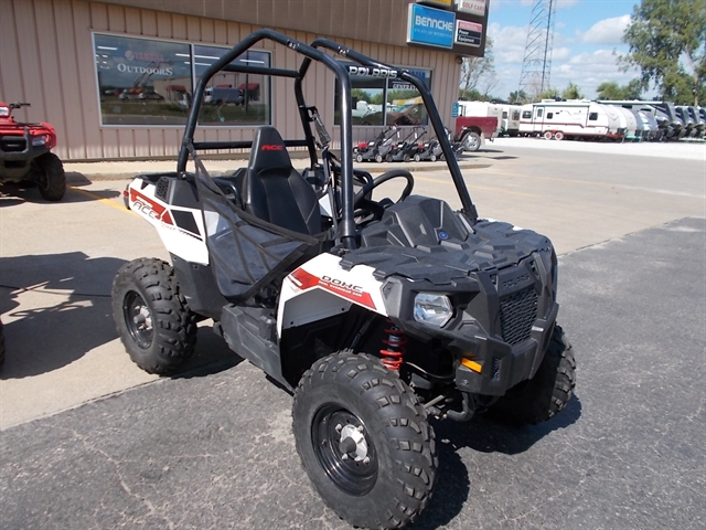2014 Polaris Sportsman ACE White Lightning at Nishna Valley Cycle, Atlantic, IA 50022