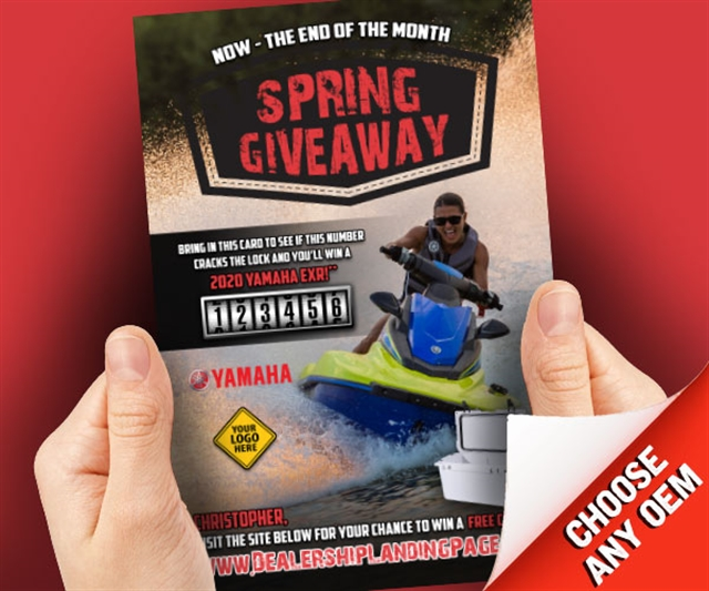 Spring Giveaway Powersports at PSM Marketing - Peachtree City, GA 30269