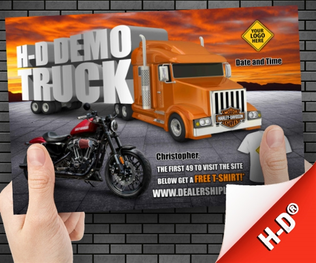 H-D Demo Truck Powersports at PSM Marketing - Peachtree City, GA 30269