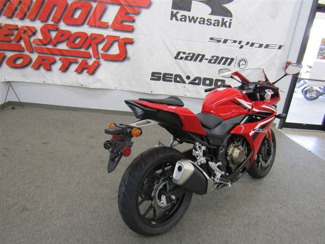 2017 Honda CBR500R Base at Seminole PowerSports North, Eustis, FL 32726