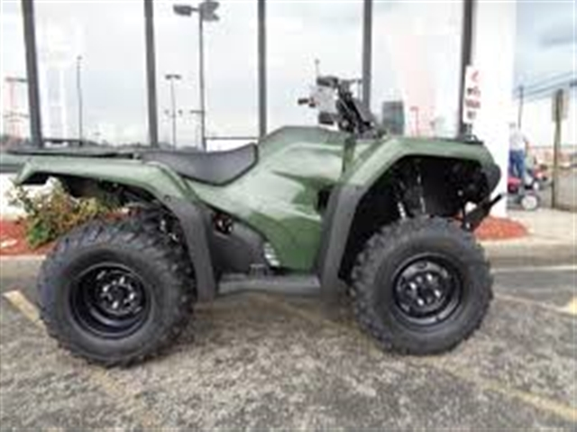 2017 Honda FourTrax Rancher 4X4 Automatic DCT EPS at Kent Motorsports, New Braunfels, TX 78130