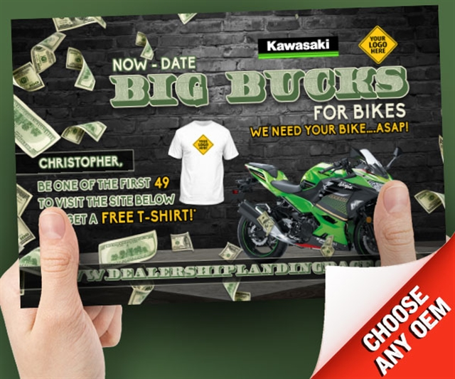 Big Bucks for Bikes Powersports at PSM Marketing - Peachtree City, GA 30269