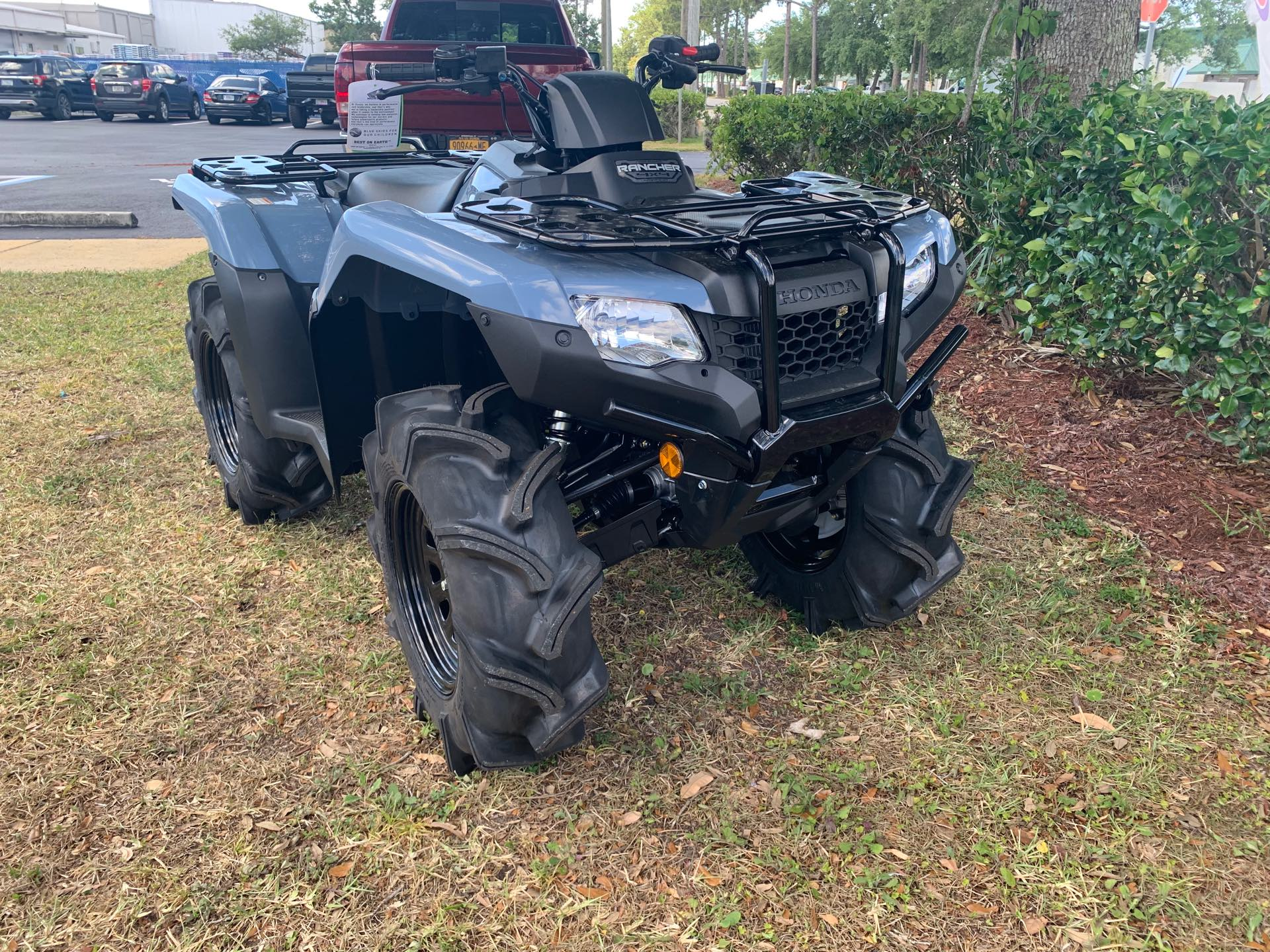 2021 Honda FourTrax Rancher 4X4 Automatic DCT EPS at Powersports St. Augustine