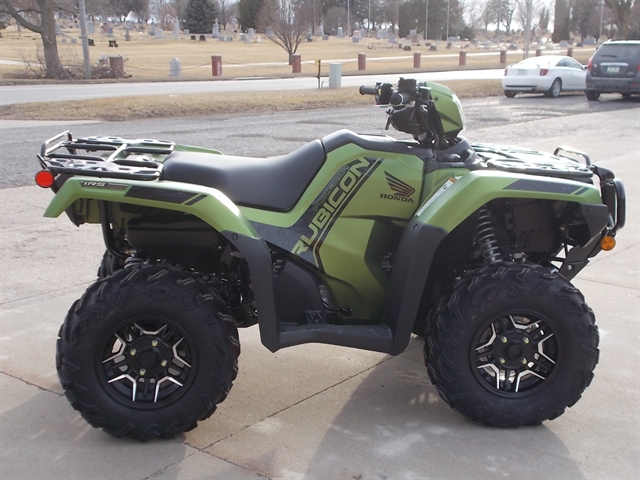 2020 Honda FourTrax Foreman Rubicon 4x4 Automatic DCT EPS Deluxe at Nishna Valley Cycle, Atlantic, IA 50022
