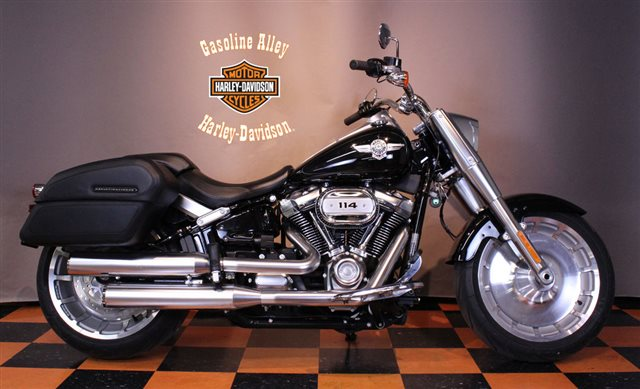2019 Harley-Davidson Softail Fat Boy 114 at Gasoline Alley Harley-Davidson (Red Deer)