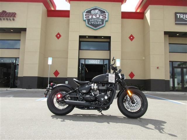 2018 Triumph Bonneville Bobber Black at Stu's Motorcycles, Fort Myers, FL 33912