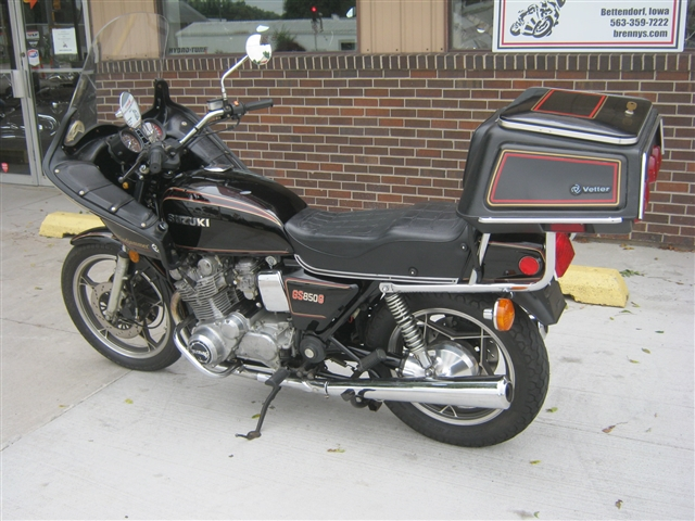 1980 Suzuki GS850G Original Survivor at Brenny's Motorcycle Clinic, Bettendorf, IA 52722