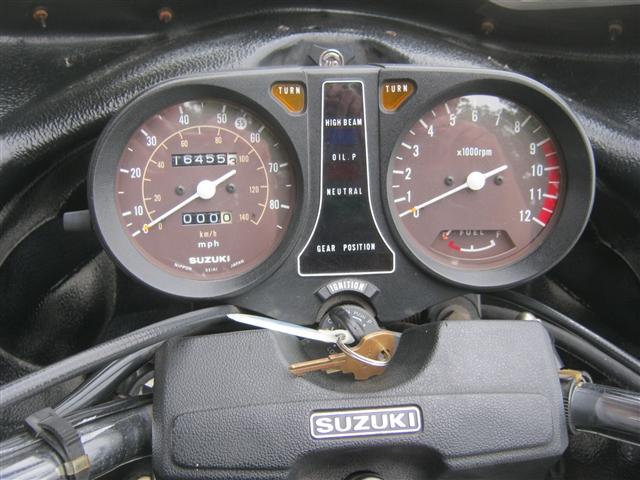 1980 Suzuki GS850G Original Survivor at Brenny's Motorcycle Clinic, Bettendorf, IA 52722
