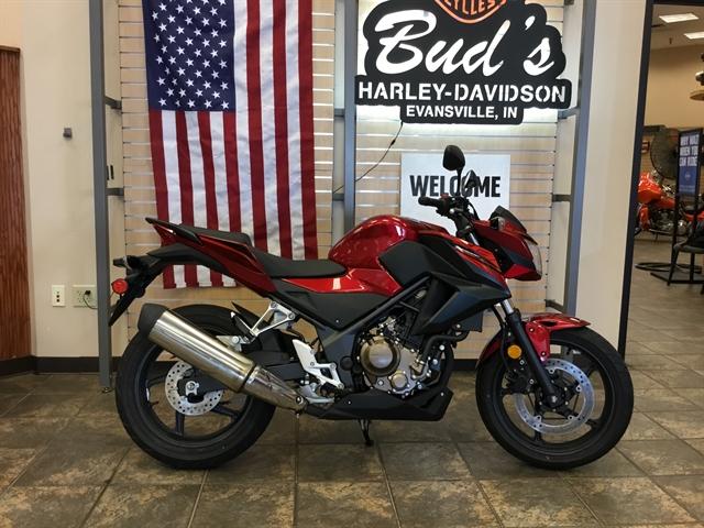 2018 Honda CB300F Base at Bud's Harley-Davidson