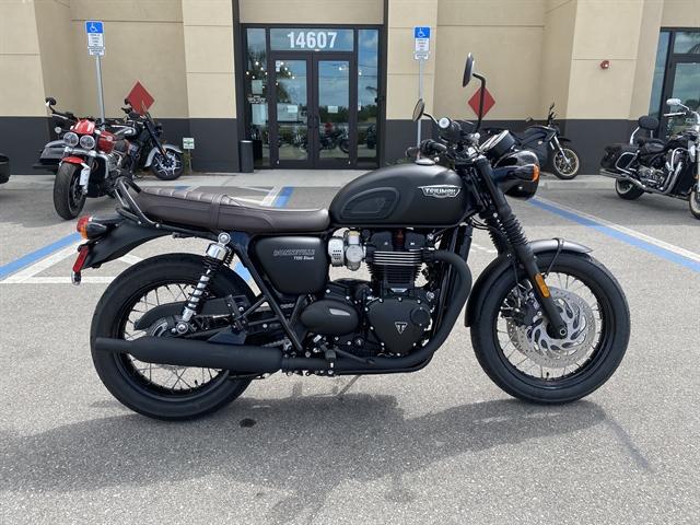 2020 Triumph Bonneville T100 Black at Fort Myers
