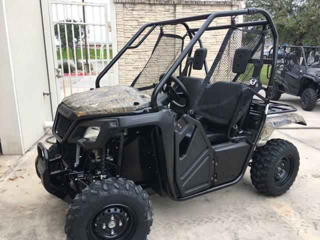2019 Honda Pioneer 500 CAMO at Kent Motorsports, New Braunfels, TX 78130