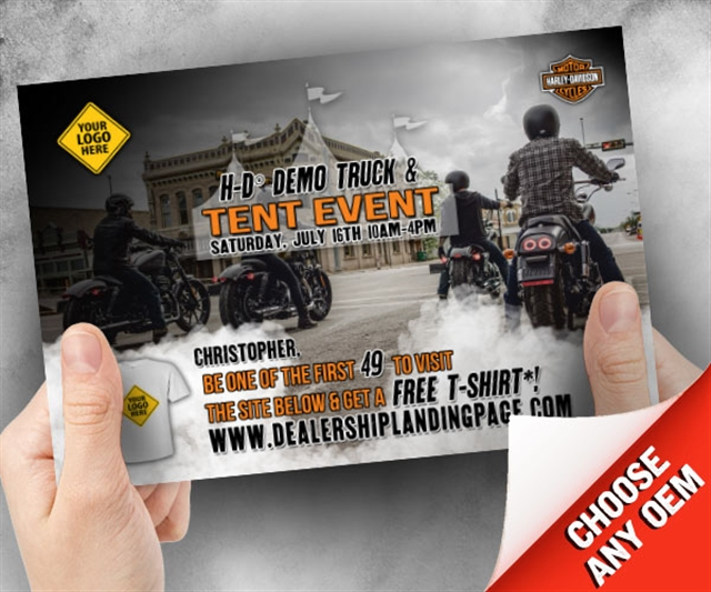 H-D Demo Truck Tent Event Powersports at PSM Marketing - Peachtree City, GA 30269