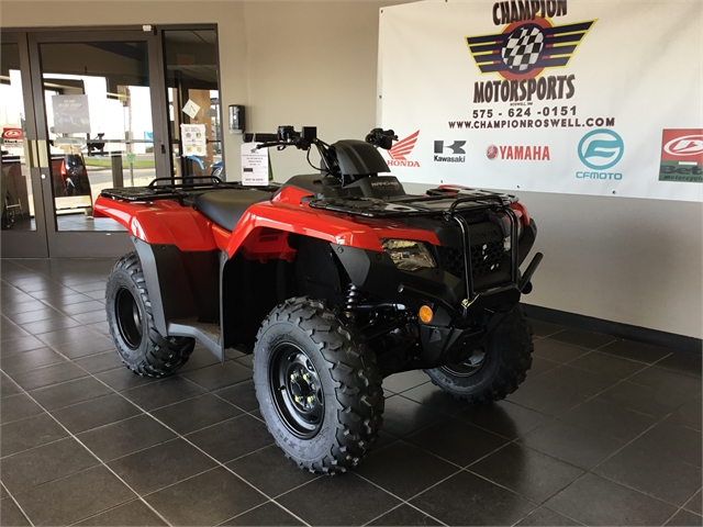 2021 Honda FourTrax Rancher 4X4 at Champion Motorsports