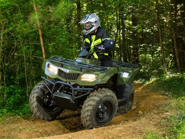 2018 Suzuki KingQuad 400ASi at Brenny's Motorcycle Clinic, Bettendorf, IA 52722