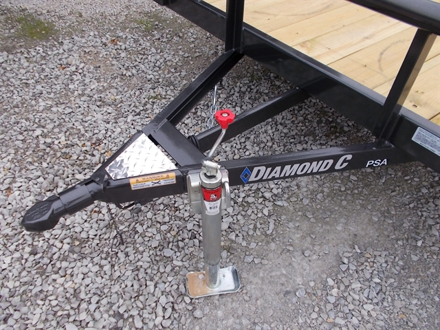 2020 Diamond C Single Axle Utility 2PSA at Nishna Valley Cycle, Atlantic, IA 50022