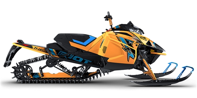 2021 Arctic Cat Riot X 8000 146 26 AMS w/QS3 at Bay Cycle Sales