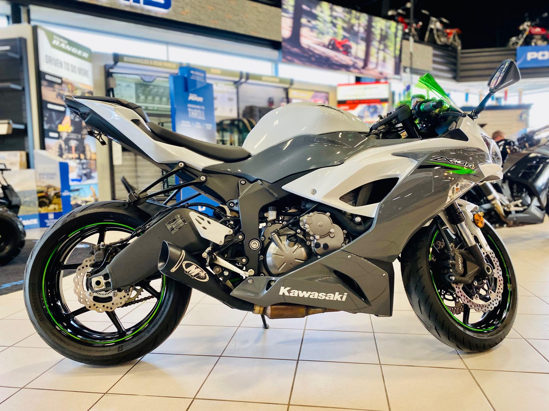 2021 Kawasaki Ninja ZX-6R Base at Rod's Ride On Powersports