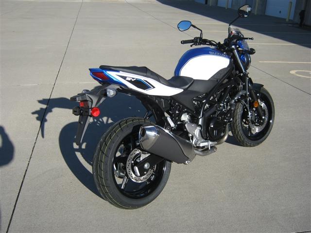2018 Suzuki SV 650 at Brenny's Motorcycle Clinic, Bettendorf, IA 52722