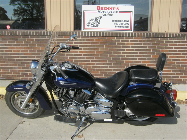 2005 Yamaha 1100 V-Star Classic at Brenny's Motorcycle Clinic, Bettendorf, IA 52722