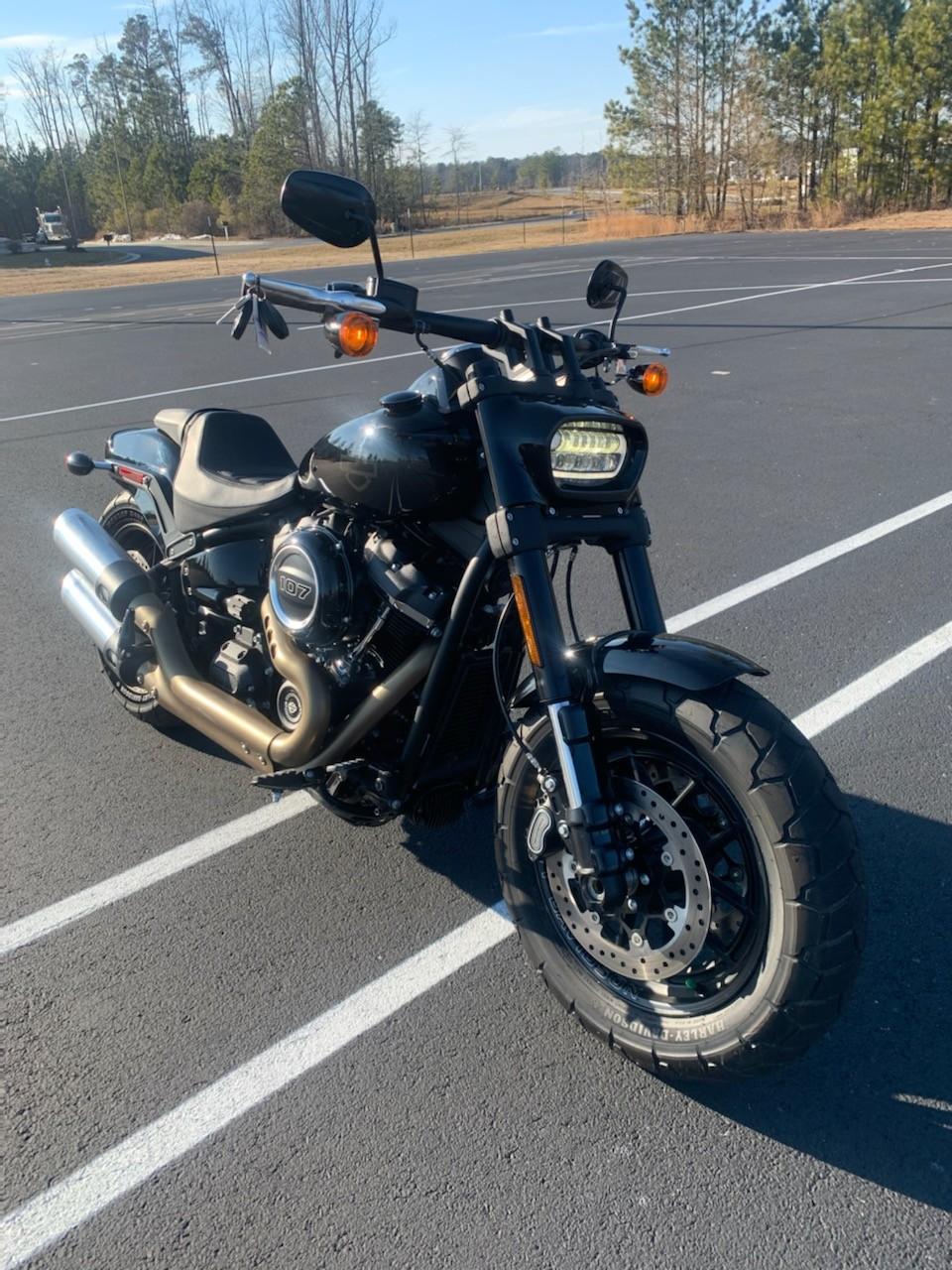 2018 Harley-Davidson Softail Fat Bob at Richmond Harley-Davidson