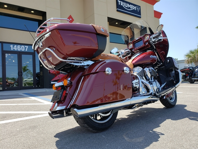 2019 Indian Roadmaster Base at Fort Lauderdale