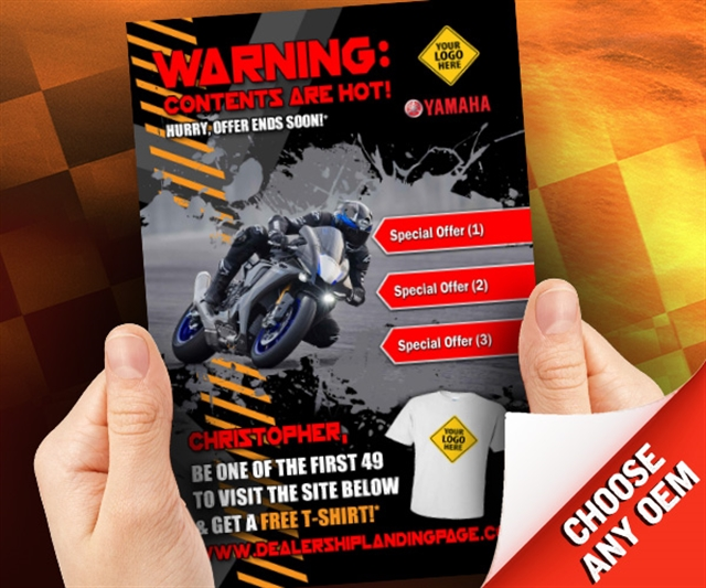 Warning: Contents Are Hot!  at PSM Marketing - Peachtree City, GA 30269