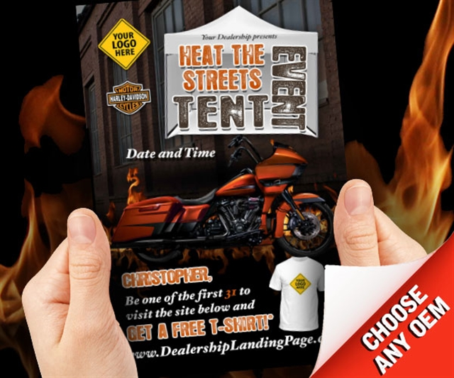 Heat the Streets Tent Event Powersports at PSM Marketing - Peachtree City, GA 30269