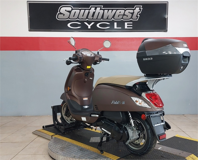 2022 SYM FIDDLE III 200i at Southwest Cycle, Cape Coral, FL 33909