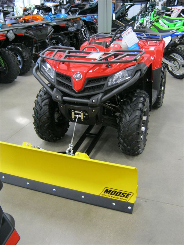 2021 CFMoto CForce 500S EPS with Snow Plow at Brenny's Motorcycle Clinic, Bettendorf, IA 52722