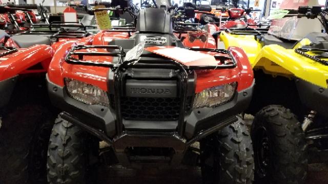 2018 Honda FourTrax Rancher 4X4 Automatic DCT IRS at Mungenast Motorsports, St. Louis, MO 63123