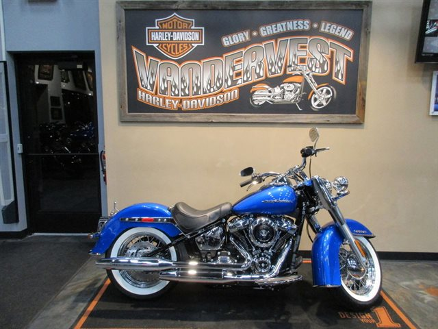 2018 Harley-Davidson Softail Deluxe at Vandervest Harley-Davidson, Green Bay, WI 54303