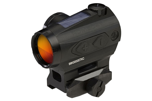 2019 Sig Sauer Optics ROMEO4T Solar Powered Red Dot Sight at Harsh Outdoors, Eaton, CO 80615