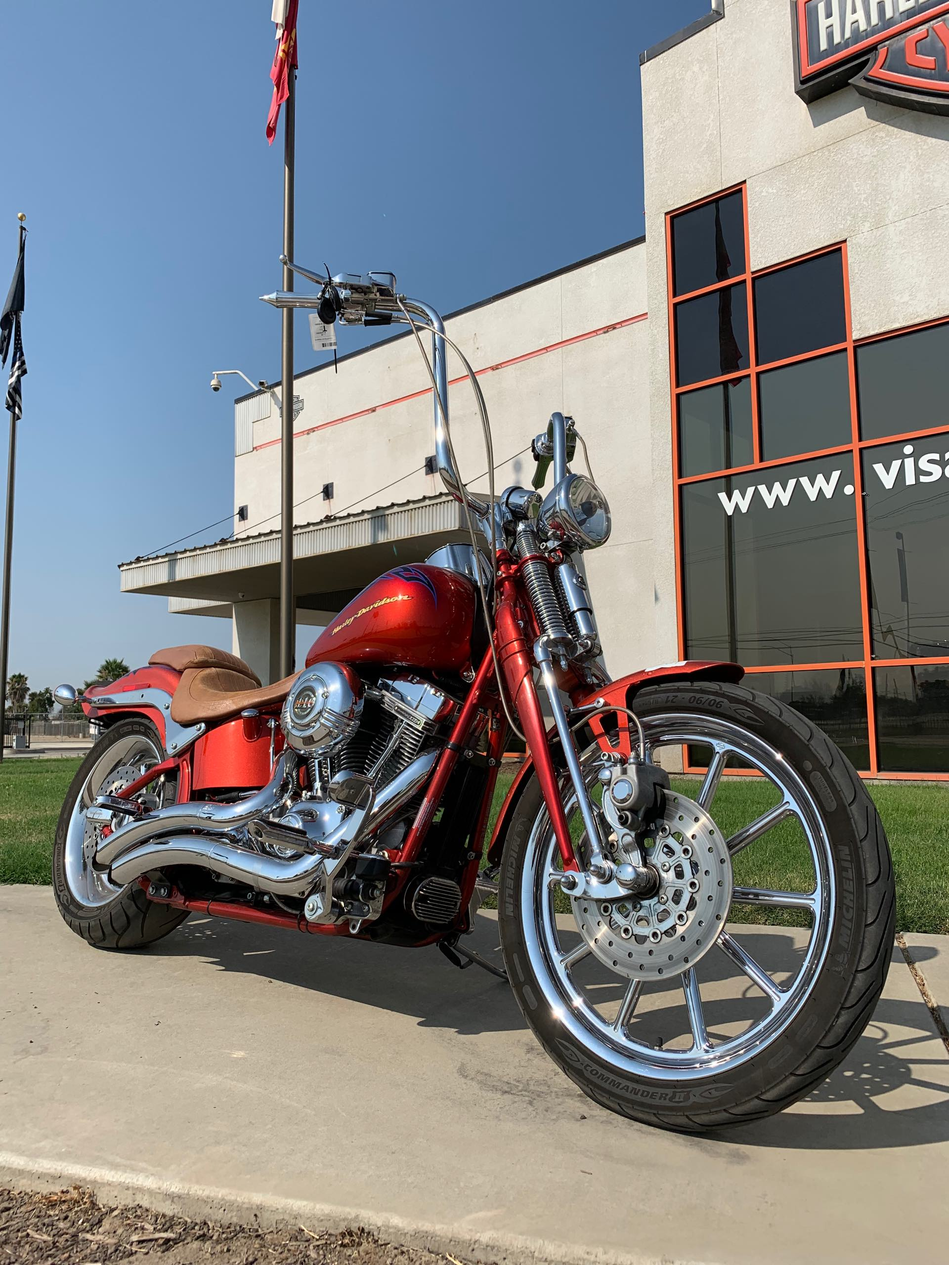 2007 Harley-Davidson FXSTSSE at Visalia Harley-Davidson