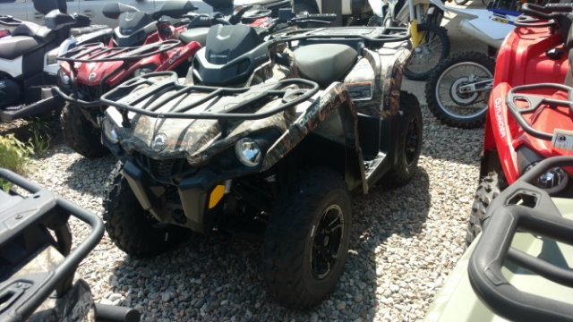 2017 Can-Am Outlander 450 DPS $137/month at Power World Sports, Granby, CO 80446