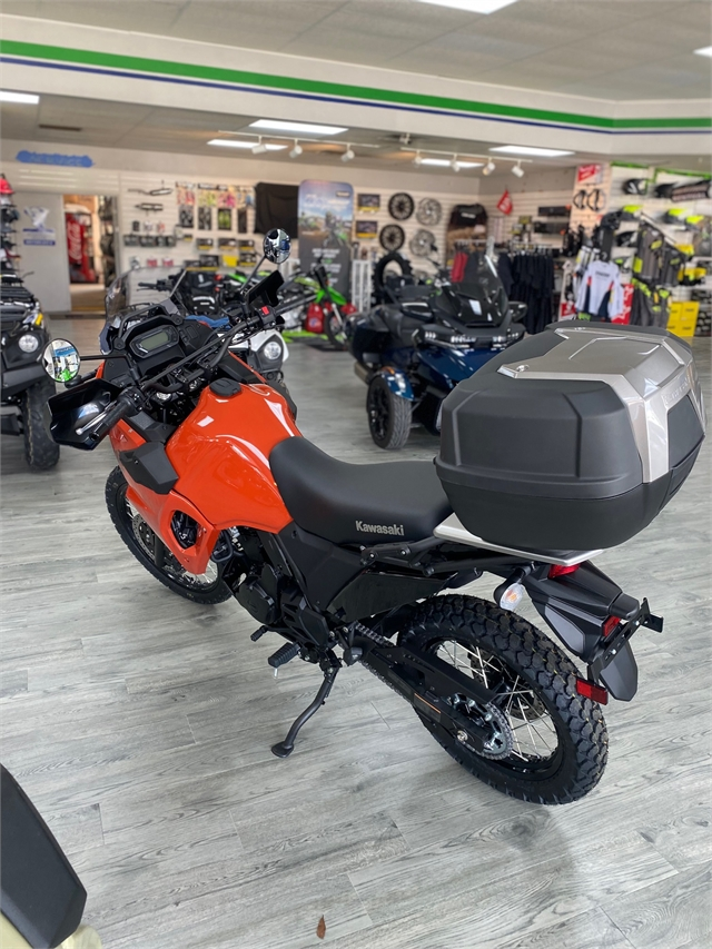 2022 Kawasaki KLR 650 Traveler at Jacksonville Powersports, Jacksonville, FL 32225