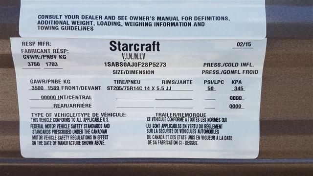 2016 Starcraft AR-ONE 18QB at Nishna Valley Cycle, Atlantic, IA 50022