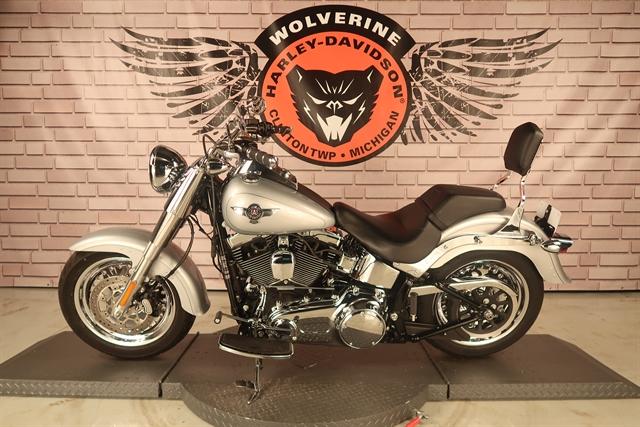 2015 Harley-Davidson Softail Fat Boy at Wolverine Harley-Davidson