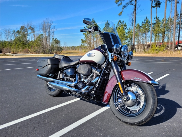 2021 Harley-Davidson Touring FLHCS Heritage Classic 114 at Richmond Harley-Davidson