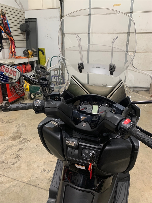 2018 Suzuki Burgman 400 ABS at Kent Motorsports, New Braunfels, TX 78130