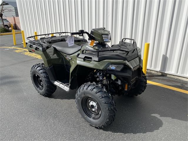 2021 Polaris Sportsman 450 HO EPS at Lynnwood Motoplex, Lynnwood, WA 98037