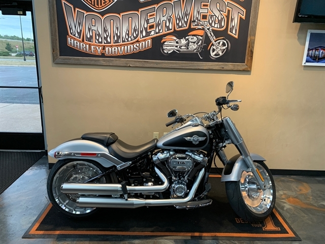 2020 Harley-Davidson Softail Fat Boy 114 at Vandervest Harley-Davidson, Green Bay, WI 54303