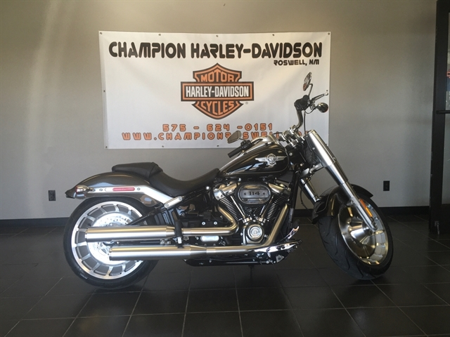 2020 Harley-Davidson Softail Fat Boy 114 at Champion Harley-Davidson