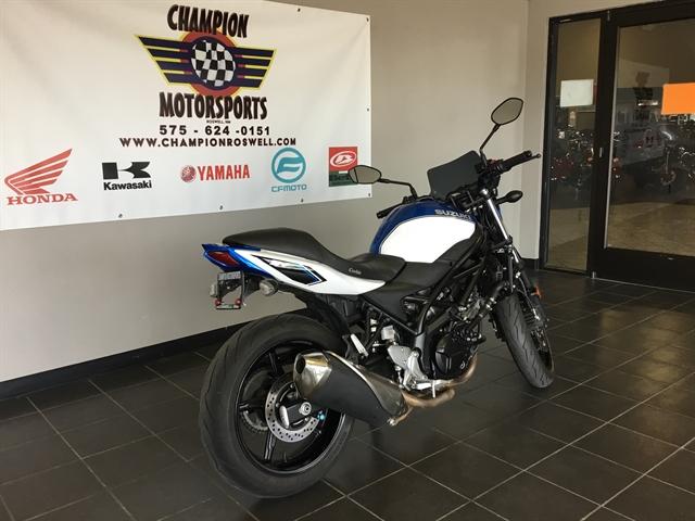 2018 Suzuki SV 650 at Champion Motorsports