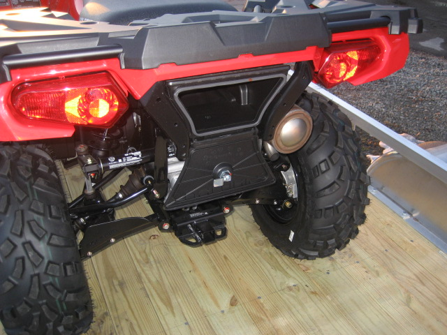 2020 Polaris 570 Sportsman - Fury Red at Fort Fremont Marine