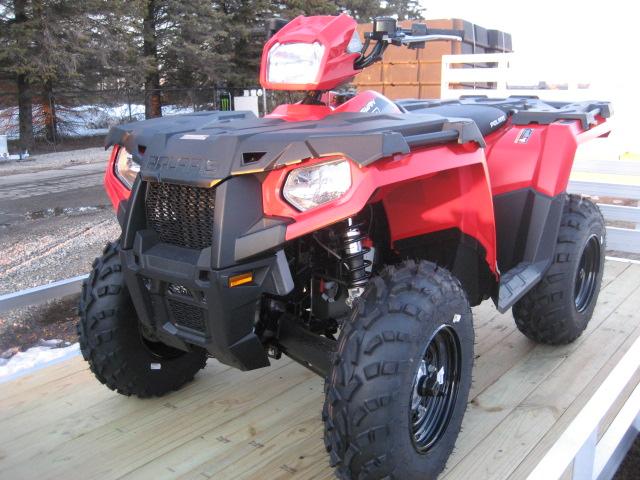 2020 Polaris 570 Sportsman - Fury Red at Fort Fremont Marine