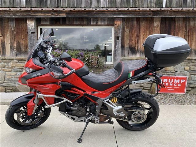 2015 Ducati Multistrada 1200 Red at Arkport Cycles