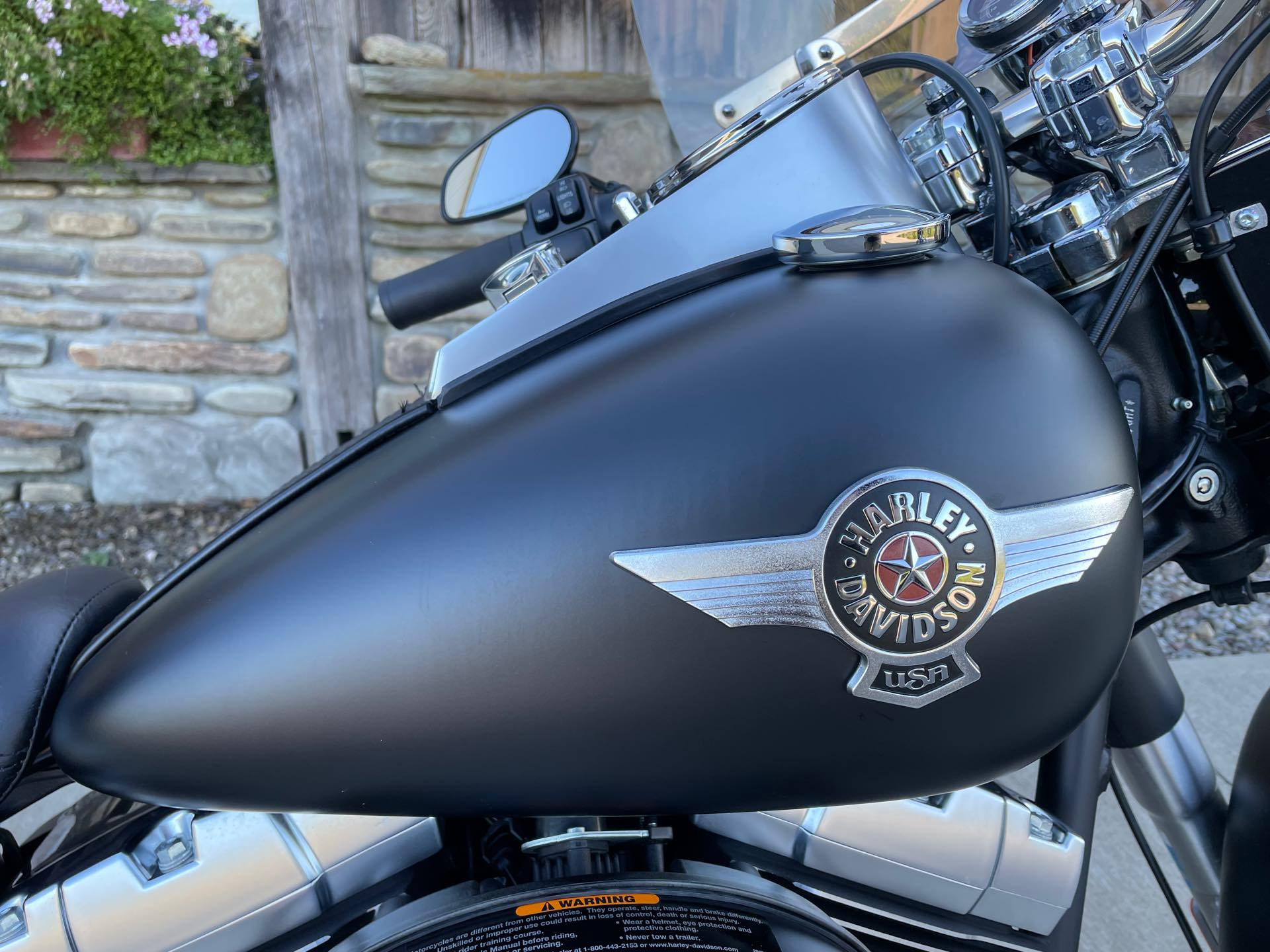 2010 Harley-Davidson Softail Fat Boy Lo at Arkport Cycles