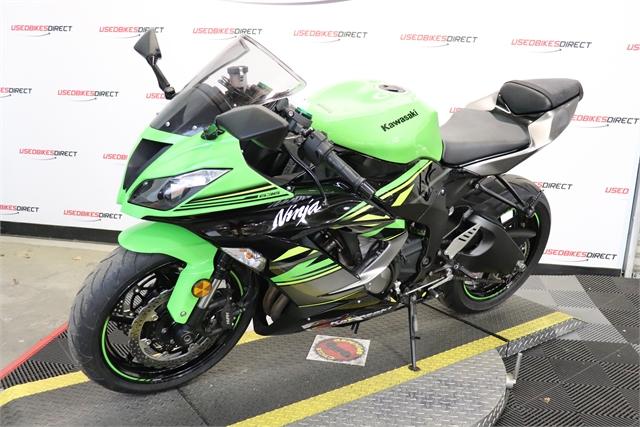2018 Kawasaki Ninja ZX-6R KRT Edition at Used Bikes Direct