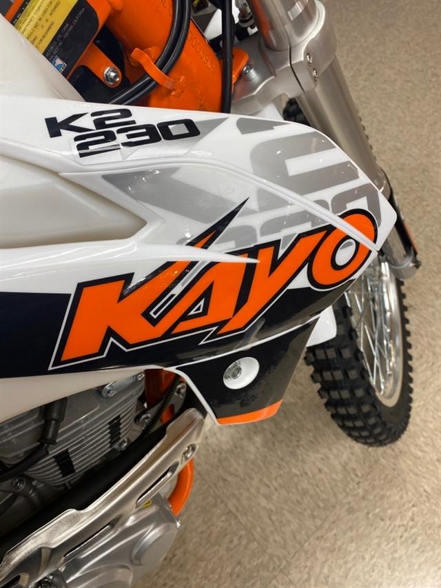 2021 Kayo K2 230 K2 230 at Sloans Motorcycle ATV, Murfreesboro, TN, 37129